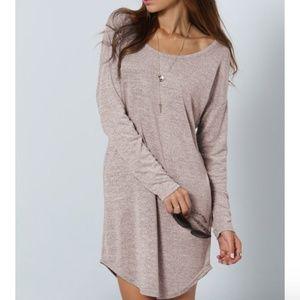 Dresses & Skirts - V Back Cut Casual Dress